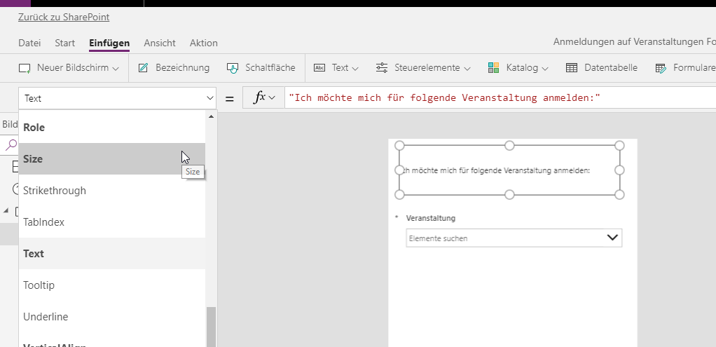 sharepoint-powerapps-textgroesse-1-blog