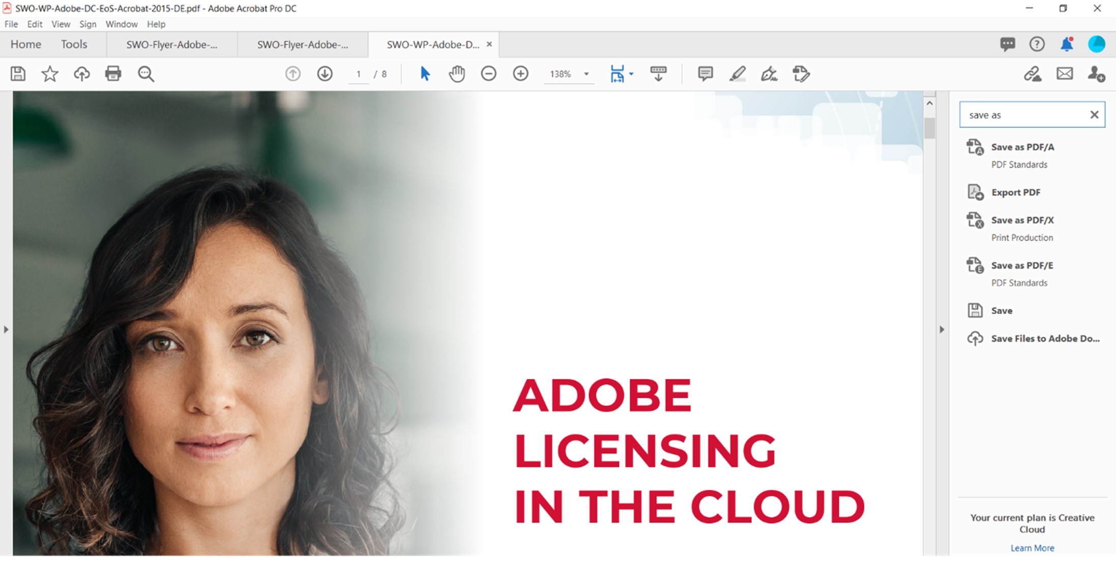 View in Adobe Acrobat Pro after enabling the PDF Standards tool