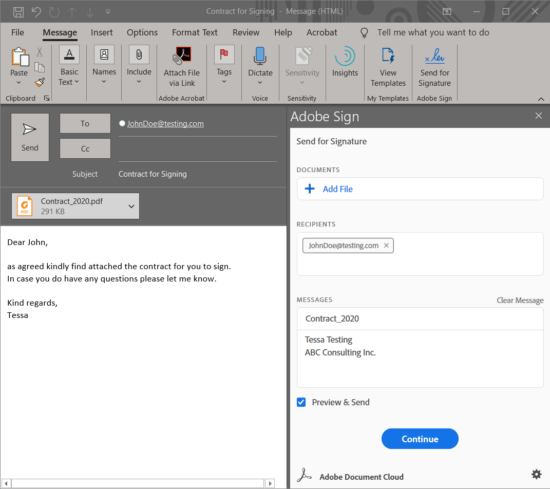 Enhance Your Digital Document Workflow With Adobe Sign