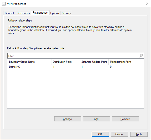 Create Boundary Groups in Microsoft's Endpoint Configuration Management