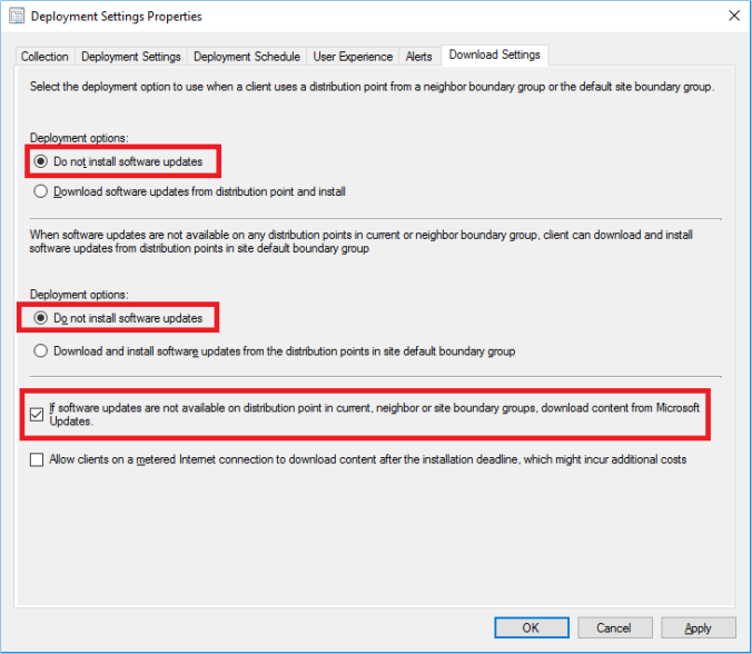 Microsoft Endpoint Configuration Manager vs. Updates