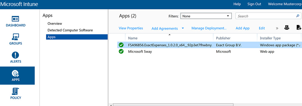 Windows Intune Application package