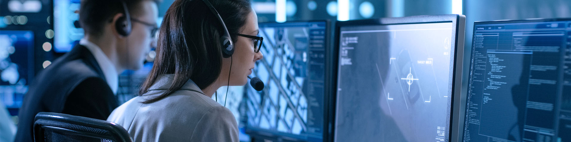Two IT security experts secure cloud environment